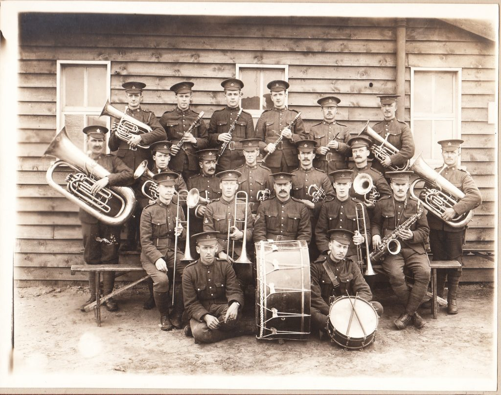 Fred Webber 54th Band 1916